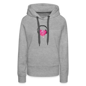 Music in my heart - Women's Premium Hoodie