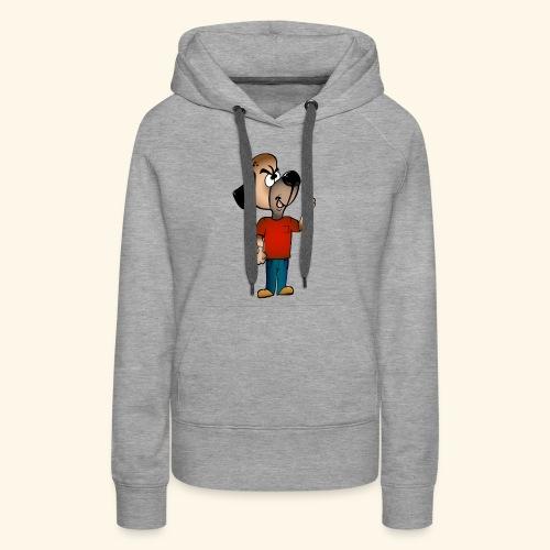 Dog Mascot - Women's Premium Hoodie