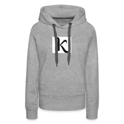 Fancy k stand for king - Women's Premium Hoodie
