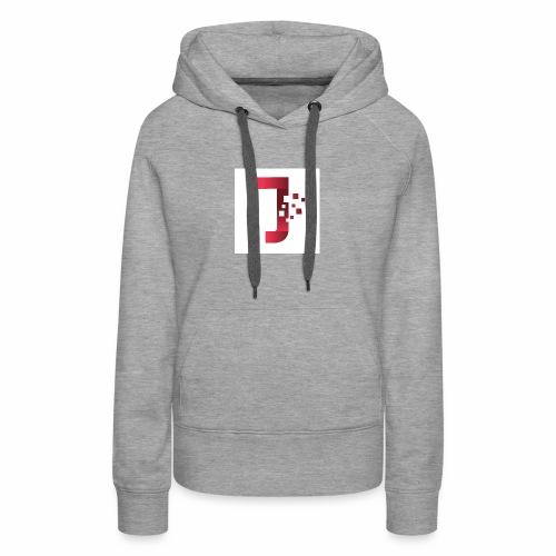 JiltedStarfish7 logo - Women's Premium Hoodie