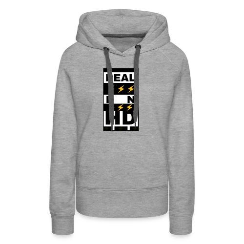 Real In HD - Women's Premium Hoodie