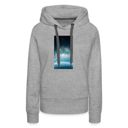 CRAZE VLOGS COVRS For iPhone 8 - Women's Premium Hoodie