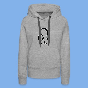 Tribe (Leo with White Outline) - Women's Premium Hoodie