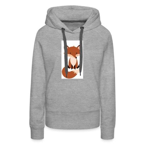 Cute Fox accessories - Women's Premium Hoodie
