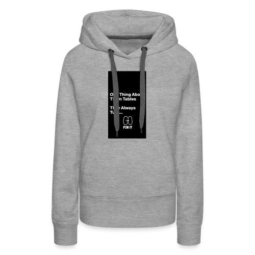 Believe - Women's Premium Hoodie