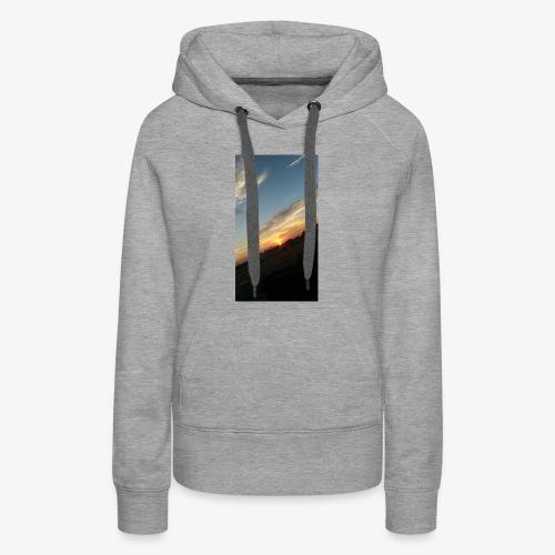 California sunset - Women's Premium Hoodie