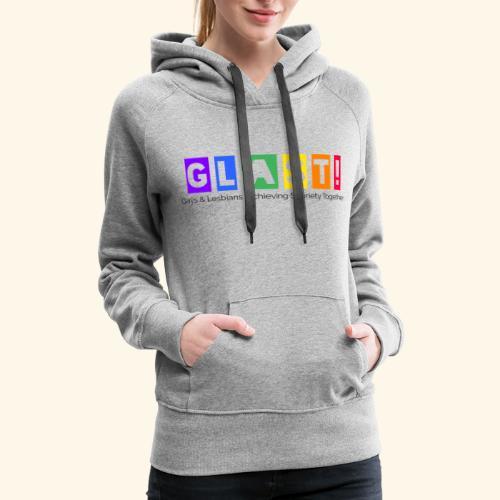 GLAST Logo Print - Women's Premium Hoodie