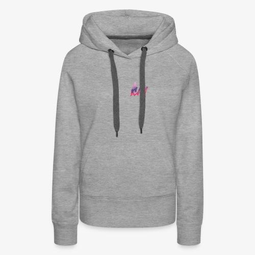 Drippy paint logo - Women's Premium Hoodie