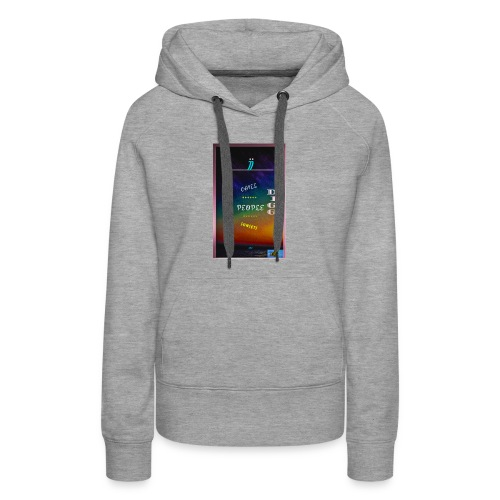 I dig Chill People, Sunsets & Bud.. - Women's Premium Hoodie