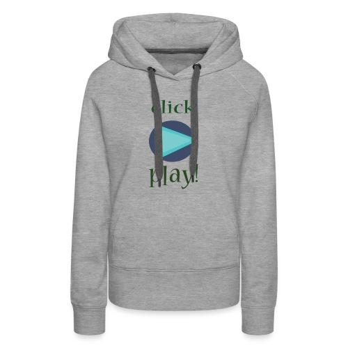 click - Women's Premium Hoodie