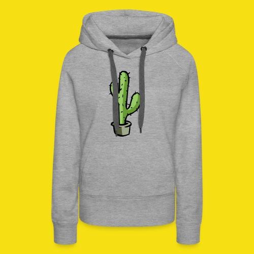 Prickly Cactus - Women's Premium Hoodie