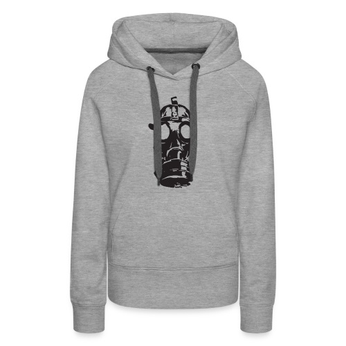 Gas Mask (Mello Jr.) - Women's Premium Hoodie