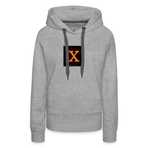 X glow xlarge - Women's Premium Hoodie