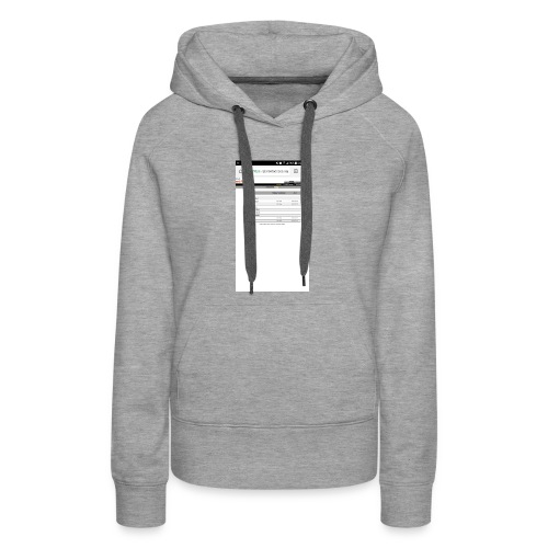 Good time for back school - Women's Premium Hoodie