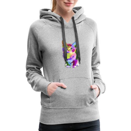 American Shorthair happy - Women's Premium Hoodie