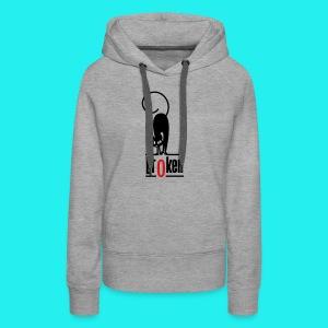 Br0ken Logo - Women's Premium Hoodie