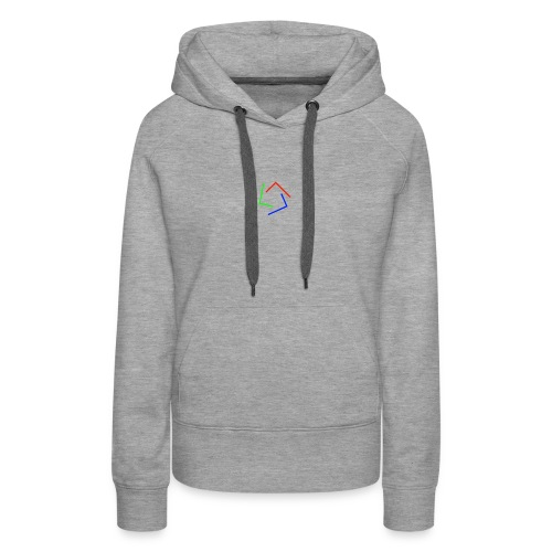 Ultra Cynet 3 Color L Logo No Text - Women's Premium Hoodie