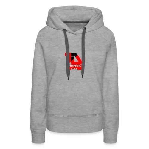 Technical Dude - Women's Premium Hoodie