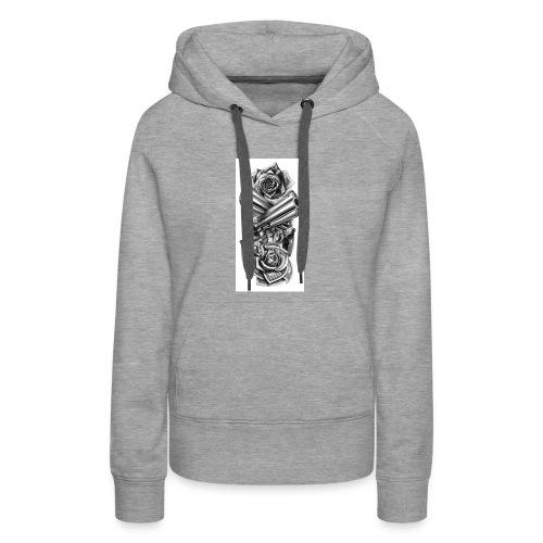 Gunz n Roses - Women's Premium Hoodie