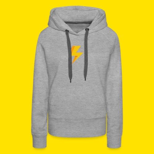lightning icon - Women's Premium Hoodie