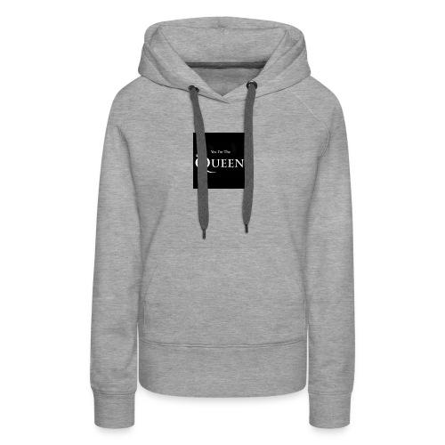 women shirt and girls - Women's Premium Hoodie