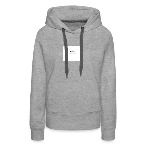 ETC - Women's Premium Hoodie