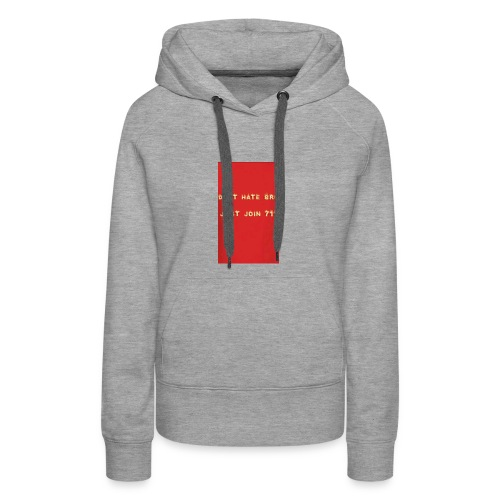 Team 711 Merch - Women's Premium Hoodie