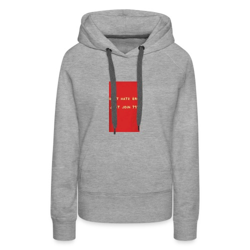 Team 711 Merch - Women's Premium Hoodie