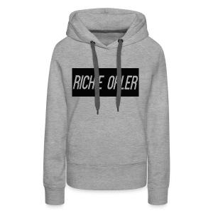 Richie Ohler Shirt Logo - Women's Premium Hoodie