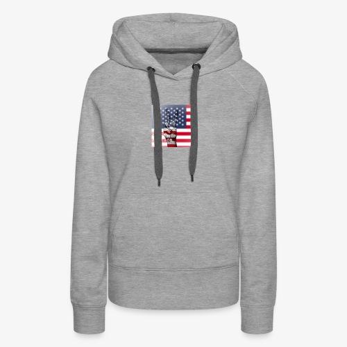 Pride America - Women's Premium Hoodie