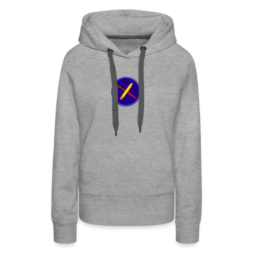 creative playing logo - Women's Premium Hoodie
