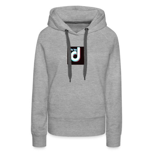 TIK TOK FOLLOW @BABY_B_ROCKS - Women's Premium Hoodie