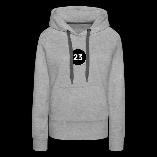 23 2014 logo - Women's Premium Hoodie