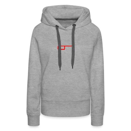 CJ Logo Design - Women's Premium Hoodie
