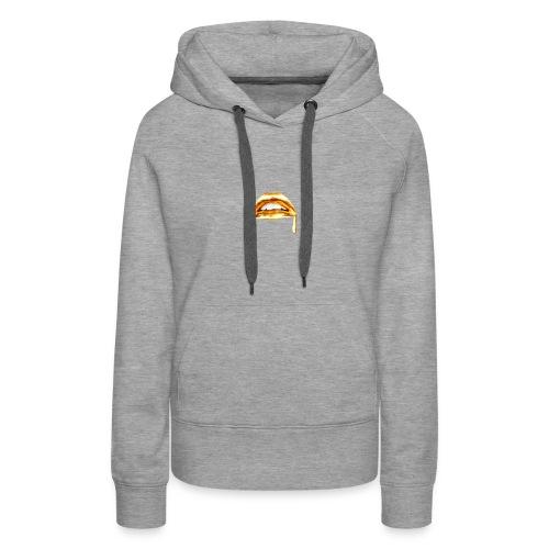 Gold Mouth Drip - Women's Premium Hoodie