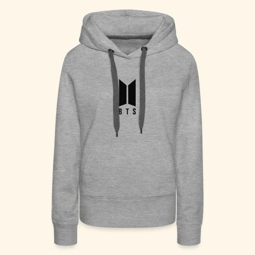 BTS LOGO MERCHANDISE - Women's Premium Hoodie