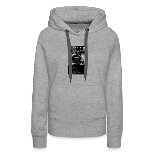 let the wolves run free - Women's Premium Hoodie