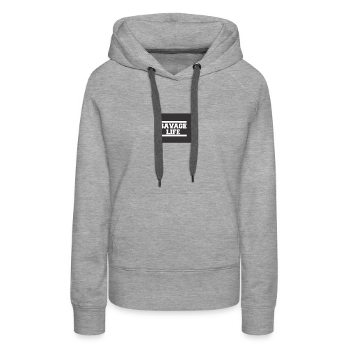 savage logo - Women's Premium Hoodie