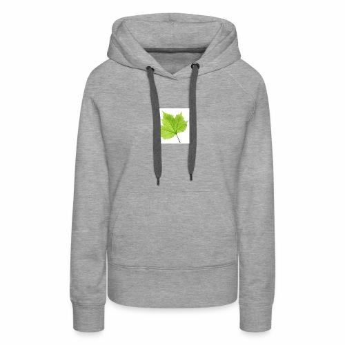 Leaf symbol - Women's Premium Hoodie