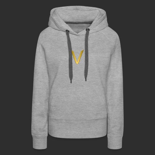 Vorteri Logo - Women's Premium Hoodie