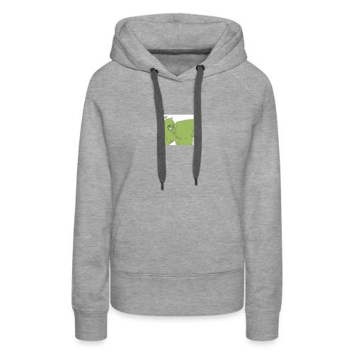 Shrek Ass Eating - Women's Premium Hoodie