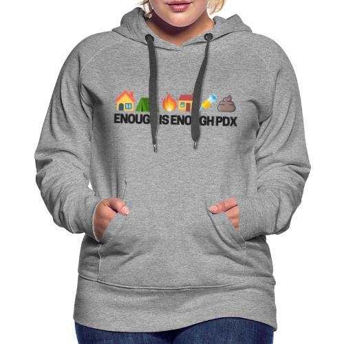 Enough is Enough Campaign Classic Design - Women's Premium Hoodie