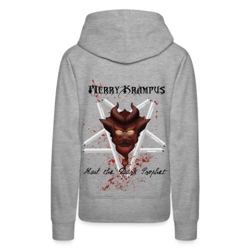 Krampus Shirt Dark - Women's Premium Hoodie