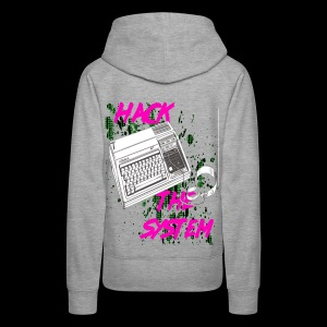 hack the system - Women's Premium Hoodie
