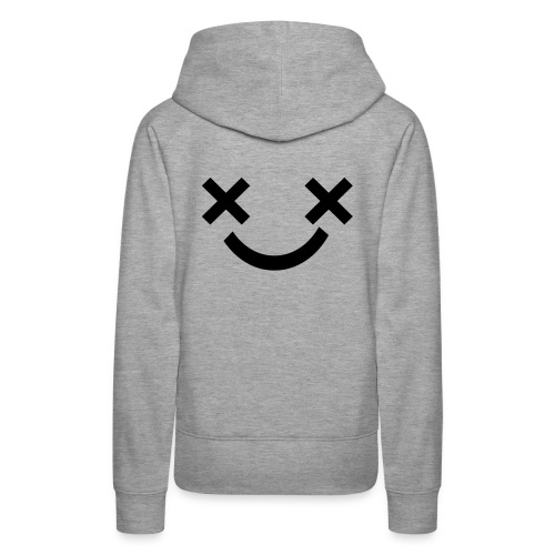 X Eyes Face Design - Women's Premium Hoodie