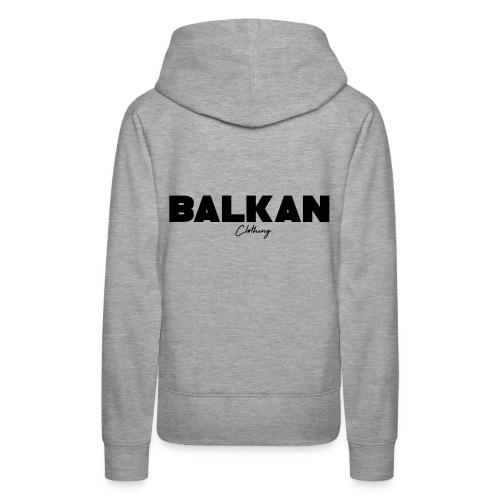 Original Balkan Clothing. Logo - Women's Premium Hoodie