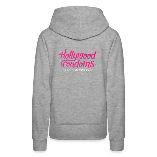 Hollywood Condoms™ - Love Performance - Women's Premium Hoodie