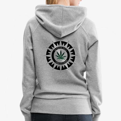 Marijuana Ambassador 02 - Women's Premium Hoodie