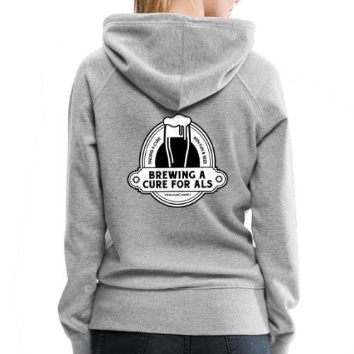 Brewing A Cure Logo Merchandise - Women's Premium Hoodie