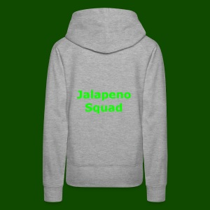 Jalapeno Squad Shirts And Hoodies - Women's Premium Hoodie